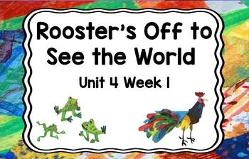 Kindergarten Reading Street Rooster's Off Unit 4 Week 1 Flipchart