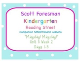 Kindergarten Reading Street SMARTboard Companion- Unit 5 W