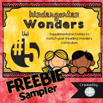 Kindergarten Wonders FREE SAMPLER PACK