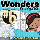 Kindergarten Wonders - Unit 6