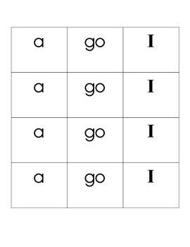 Kindergarten Rings of Words
