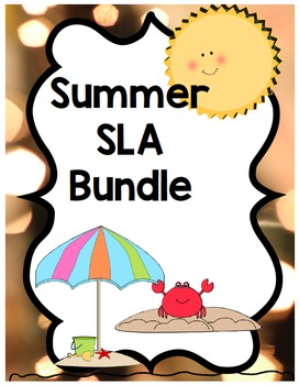 Kindergarten SLA Bundle Spanish