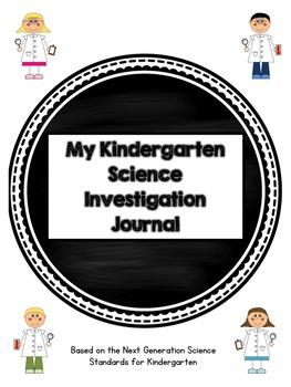 Kindergarten Science Journal: Next Generation Science Standards