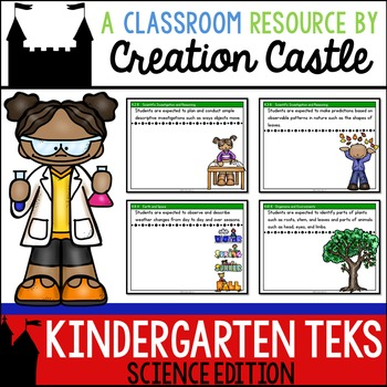 Kindergarten Science TEKS