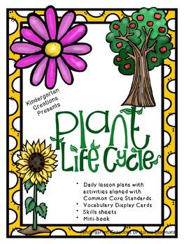 Kindergarten Science Discovering Plants Unit