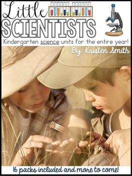 Kindergarten Science Units For The Entire Year