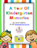 Kindergarten Scrapbook/Memory Book