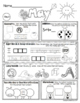 Kindergarten Seat Work - Homework - MAY - Math - Literacy