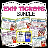 Kindergarten Exit Tickets Bundle