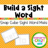 Kindergarten Sight Word Snap Cubes Station