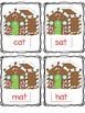 Kindergarten Sight Word & Word Family Write the Room ~ December