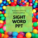 Kindergarten Reading Streets Sight Words FREEBIE