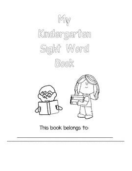 Kindergarten Sight Words Preview