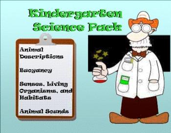 Kindergarten SmartBoard Science Pack