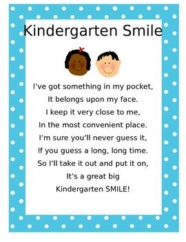 Kindergarten Smile song