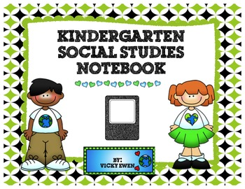 Kindergarten Social Studies Notebook
