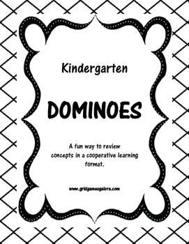 Kindergarten Sounds Dominoes
