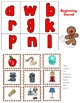 Kindergarten - Special Education-Beginning Sound Lotto Game