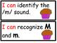 Kindergarten Spelling Learning Targets
