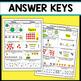 Kindergarten Math Homework Kindergarten Morning Work for 1