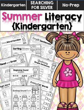 Summer Literacy No-Prep {Kindergarten}