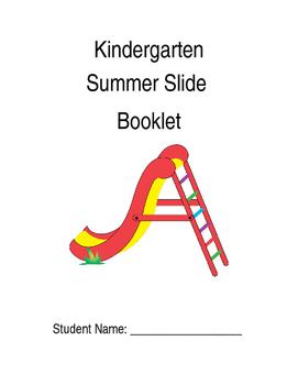 Kindergarten Summer Slide Packet