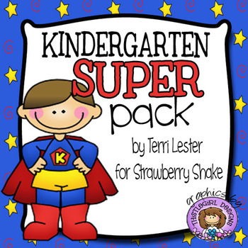 Kindergarten Super Pack