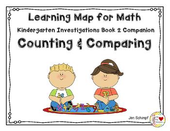 Kindergarten TERC Investigations Book 2 Companion: Count &
