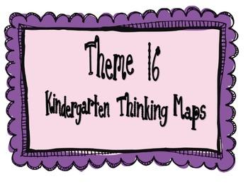 Kindergarten, Theme 16 Literacy By Design Graphic Organizers