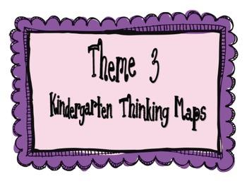 Kindergarten, Theme 3 Literacy By Design Graphic Organizers
