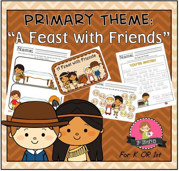 Kindergarten AND First Grade Theme - Thanksgiving