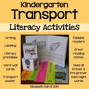 Kindergarten Transport: Literacy Activities