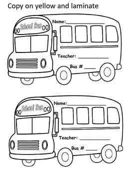 Kindergarten Transportation Necklaces