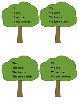 Kindergarten Treasures Little Tree Activities