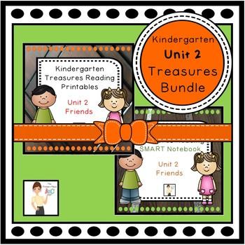 Kindergarten Treasures Unit 2 Bundle