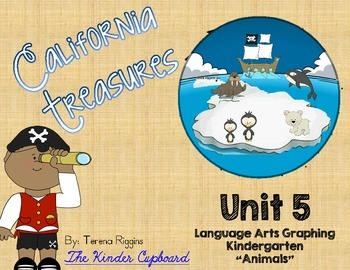 Kindergarten Treasures Unit 5 - Graphing {Animals}