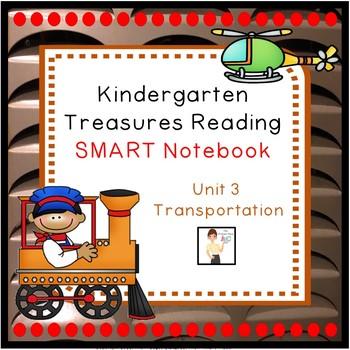 Kindergarten Unit 3 Treasures Reading Program SMART Notebo