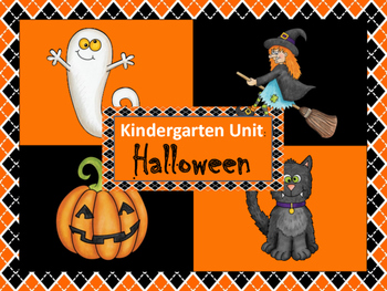 Kindergarten Unit: Halloween
