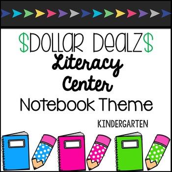 Kindergarten Uppercase/Lowercase Matching Notebook Theme Center