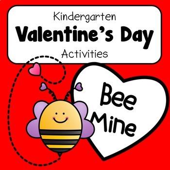 NO PREP Kindergarten Valentine Activities