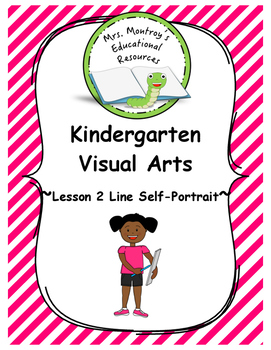 Kindergarten Visual Arts Lesson 2 Line Self Portrait