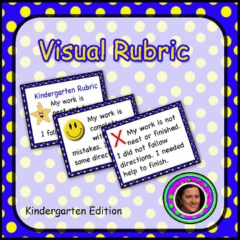 Kindergarten Visual Rubric