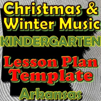 Kindergarten Winter Holidays Christmas Unit Lesson Plan Te