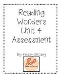 Kindergarten Wonders Reading Unit 4 Assessment