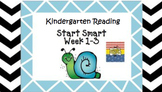 Kindergarten Wonders Start Smart Week 1-3 (Bundled)