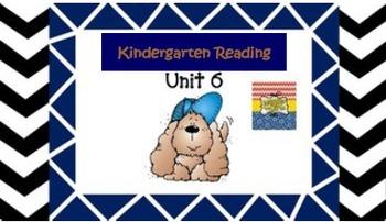 Kindergarten Wonders Unit 6 (Bundled)