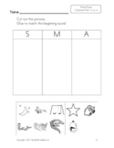 Kindergarten Word Study Consonant Sorts Worksheets - 50+ Pages