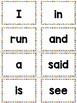 Kindergarten Word Wall Sight Words