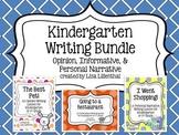 Common Core Writing Bundle #1 ~ Kindergarten