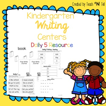 Kindergarten Writing Center